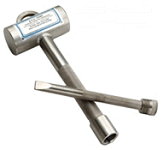 chisel and hammer