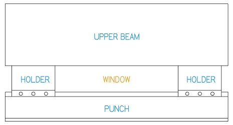 Box Bending With Window Style Tooling