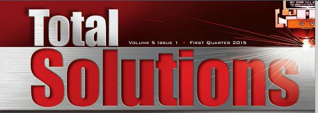 Amada America Total Solutions – Q1 2015